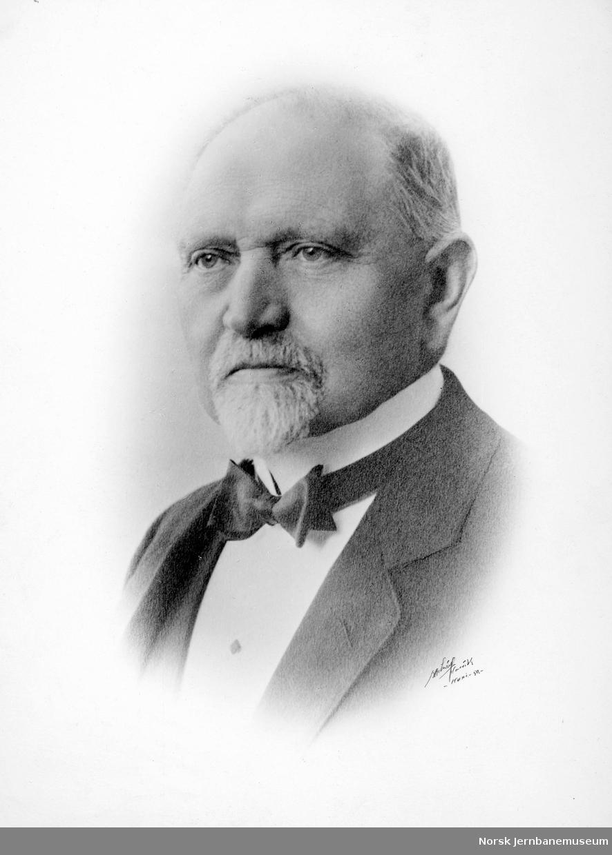 Portrett av distriktsjef Eggert M. C. Johannsen, Narvik