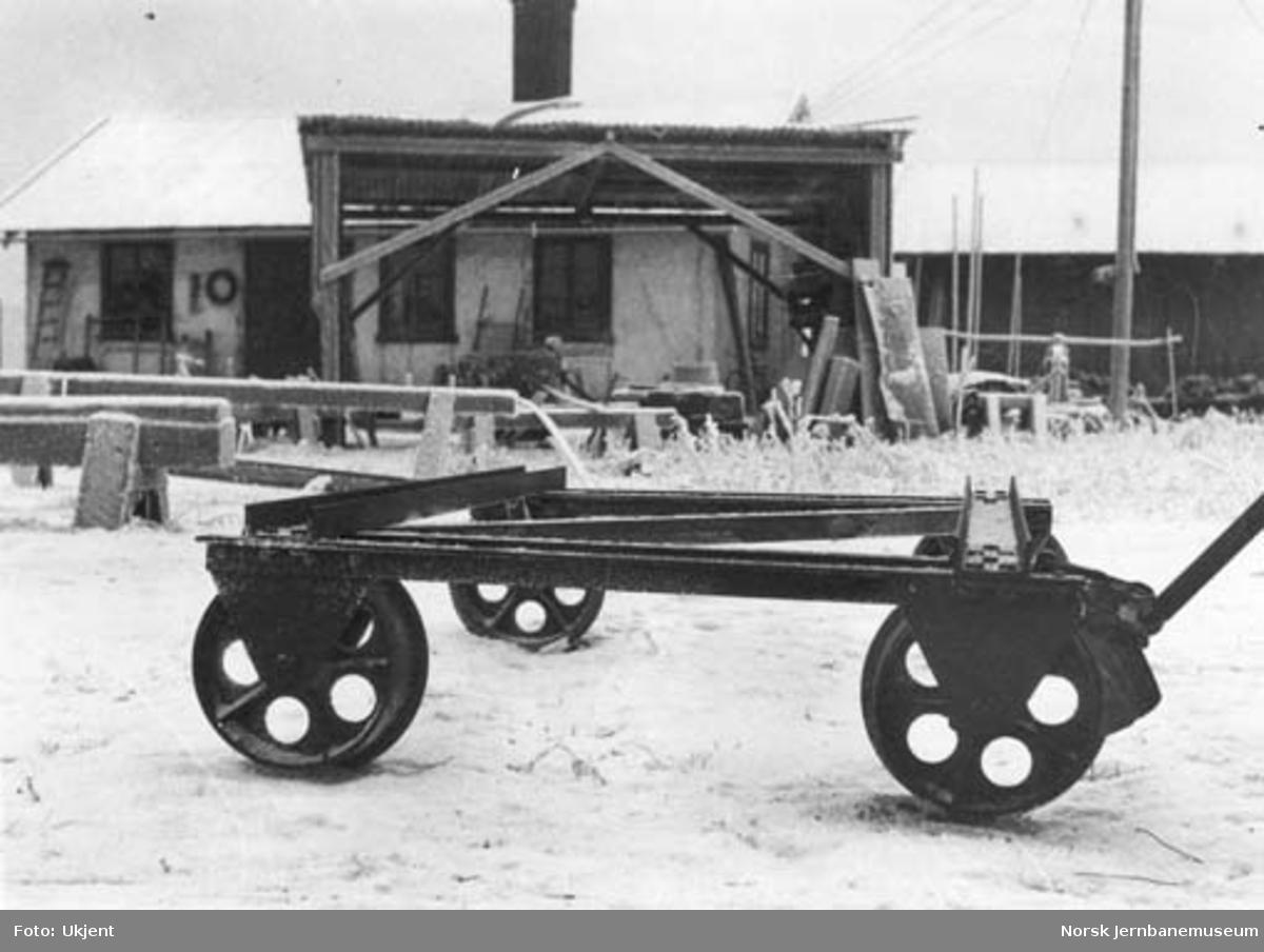 Skinnetralle fra Arne Holms verksted, Levanger