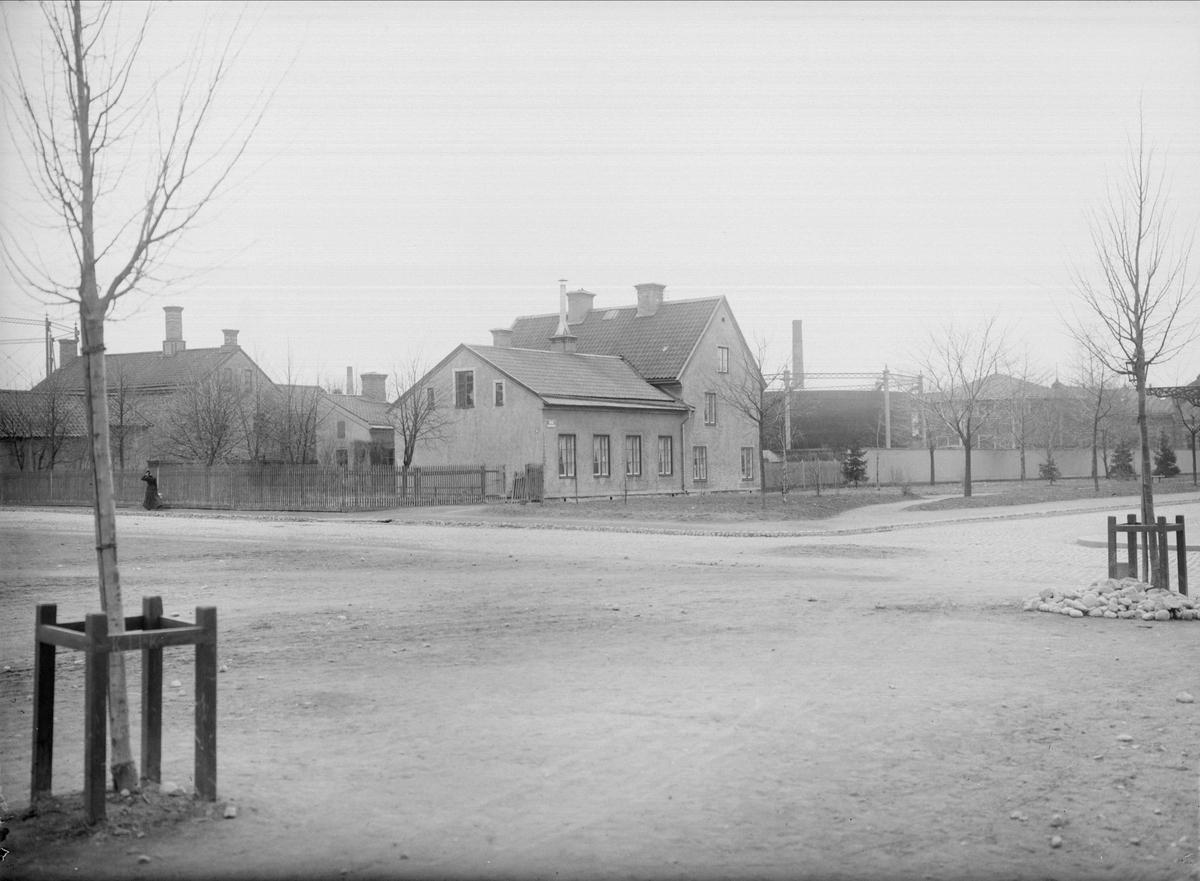 Hamnesplanaden - Kungsängsgatan, Kungsängen, Uppsala 1901 - 1902