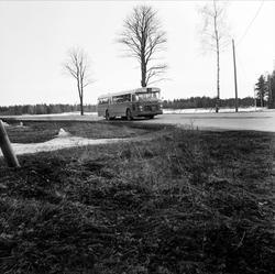Premiär för gratis buss i Österlövsta socken, Uppland mars 1