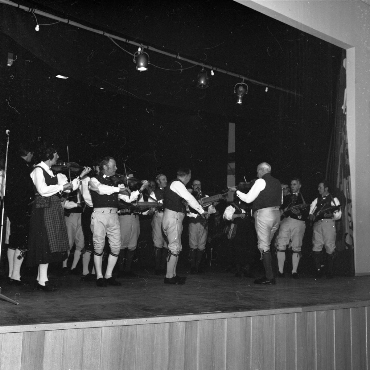Nyckelharpans dag i Tierp, Uppland april 1973