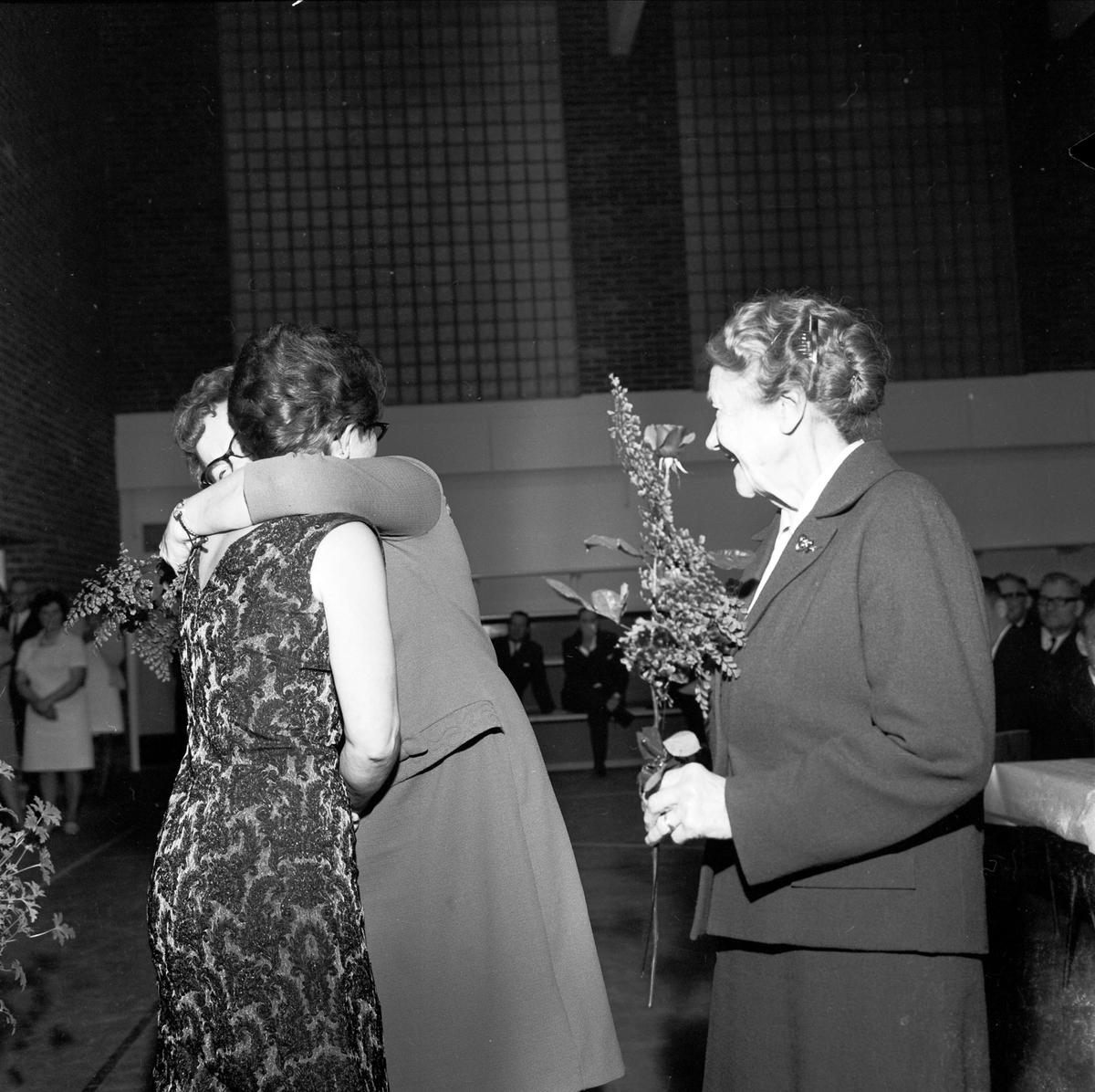 """""""Tierps arbetarkommun och kvinnoklubbens 40-årsjubileum"""", Tierp, Uppland 1967"""