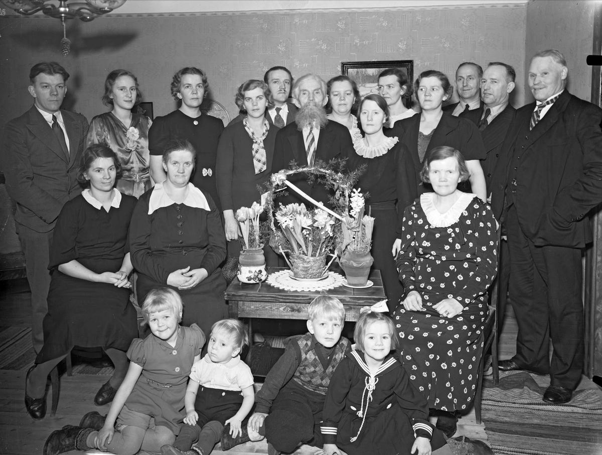 Grupp i hemmiljö, Uppsala 1938