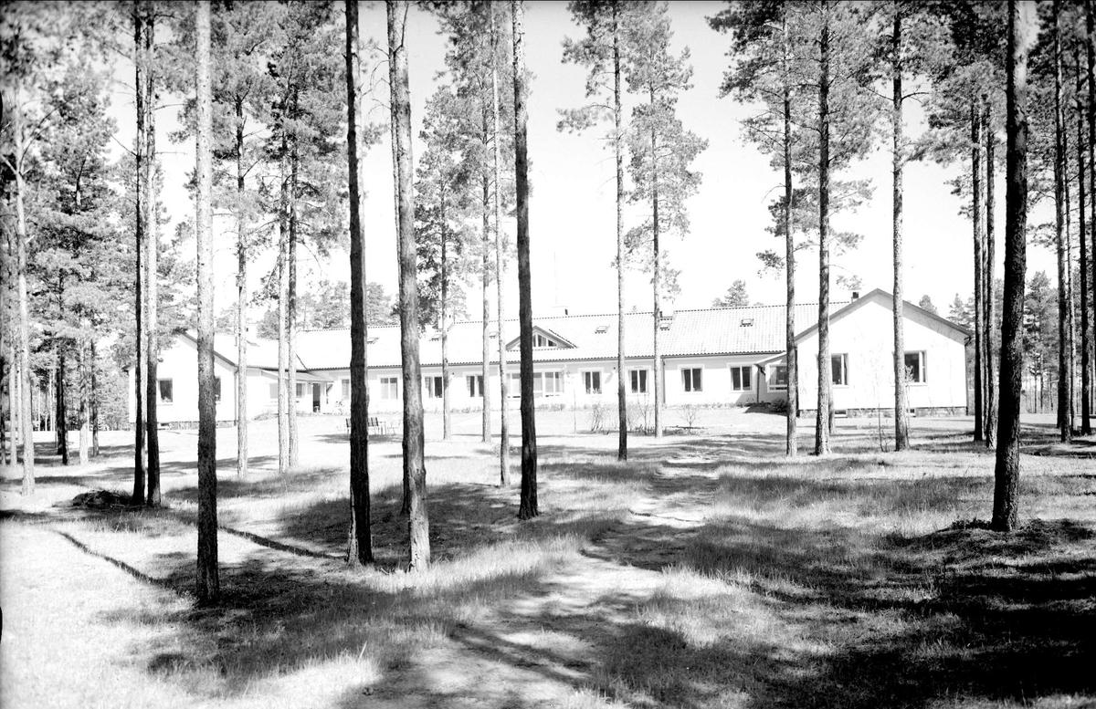 Tallmons sjukhem, Skutskär, Älvkarleby socken, Uppland 1962