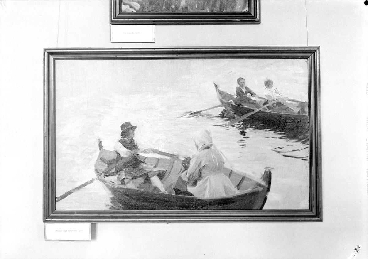 Oljemålning, Zornmuseet, Mora, Dalarna 1939