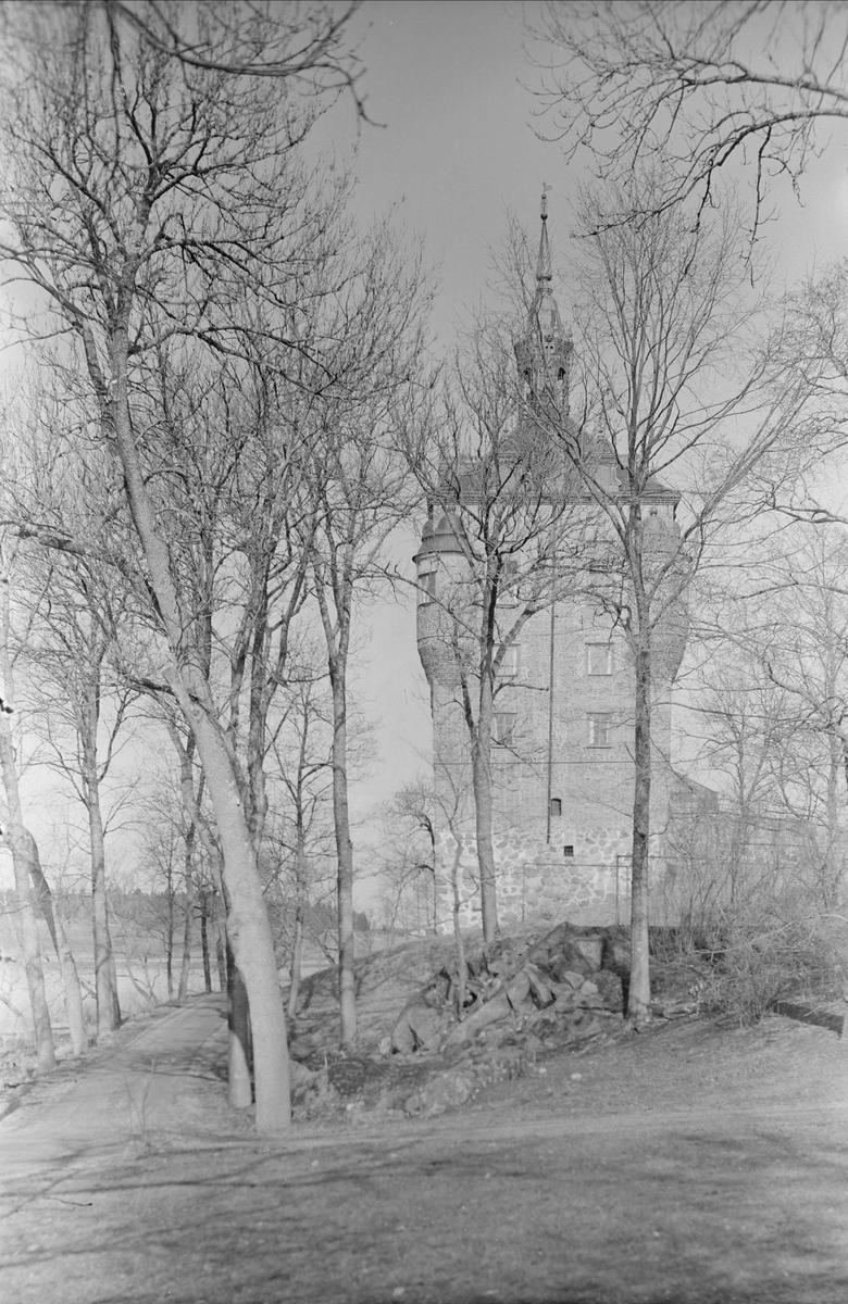 Wiks slott, Vik, Balingsta socken, Uppland sannolikt 1965