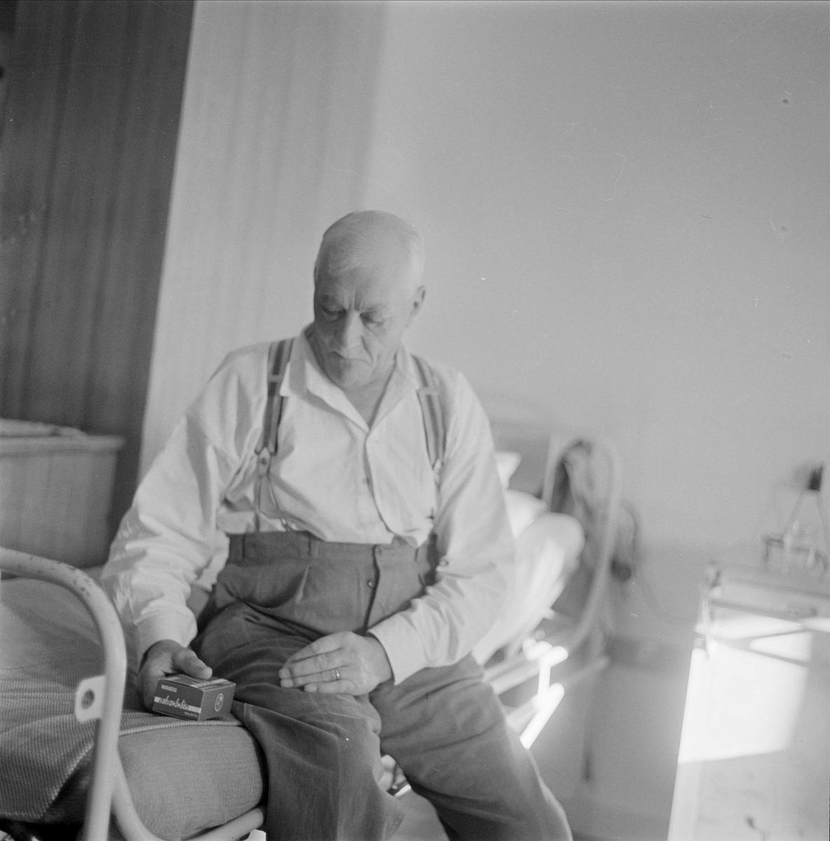 Patient på Akademiska sjukhuset, stadsdelen Fjärdingen, Uppsala