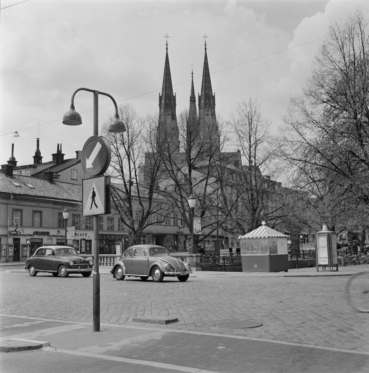 Kvarteret Domen och Uppsala domkyrka, stadsdelen Fjärdingen, Uppsala
