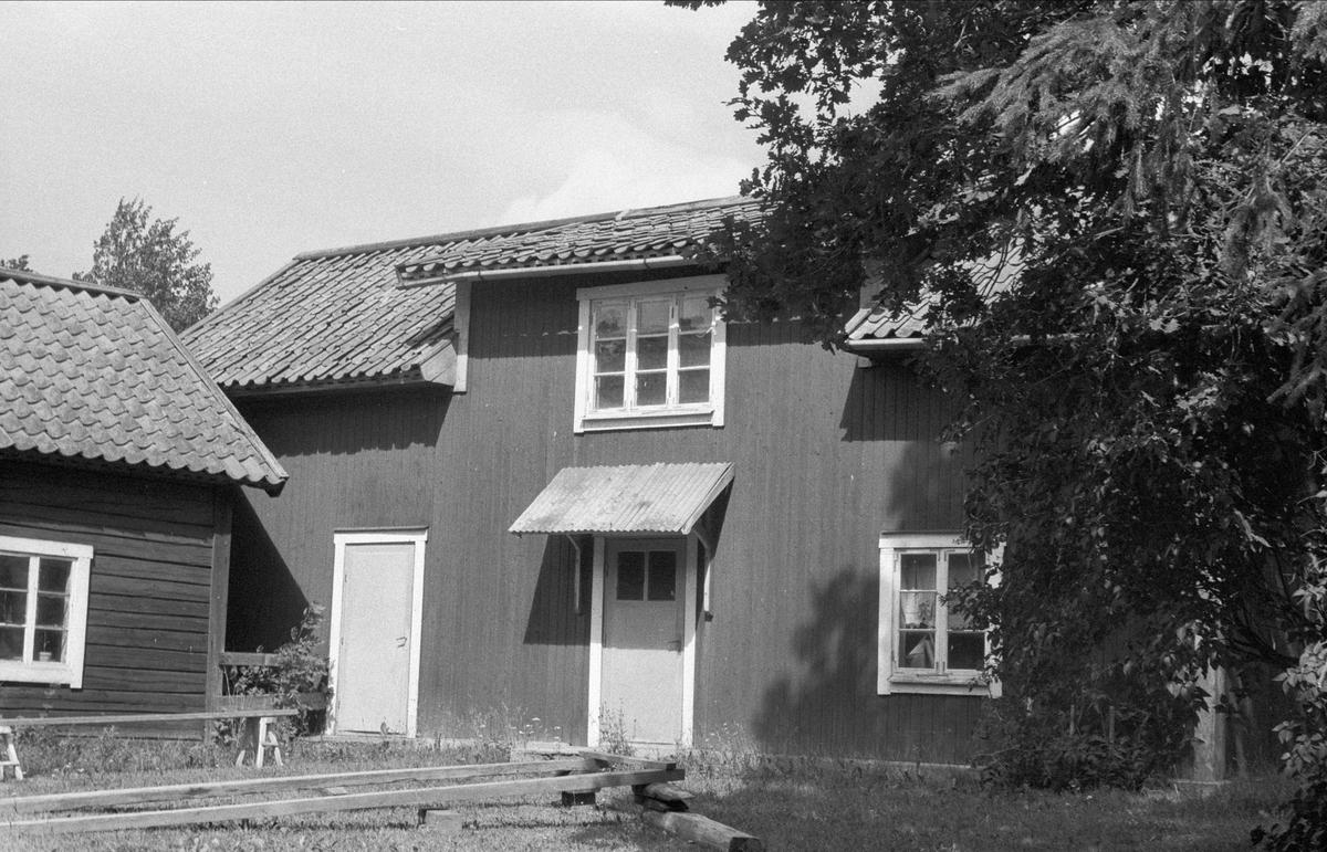 Arbetarbostad, Rosta 3:2, Bälinge socken, Uppland 1976