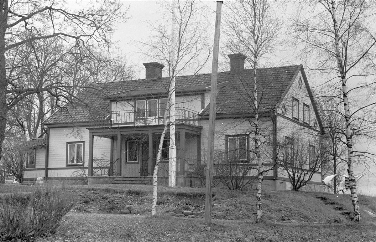 Mangårdsbyggnad, Östa 1:2, Ärentuna socken, Uppland 1977