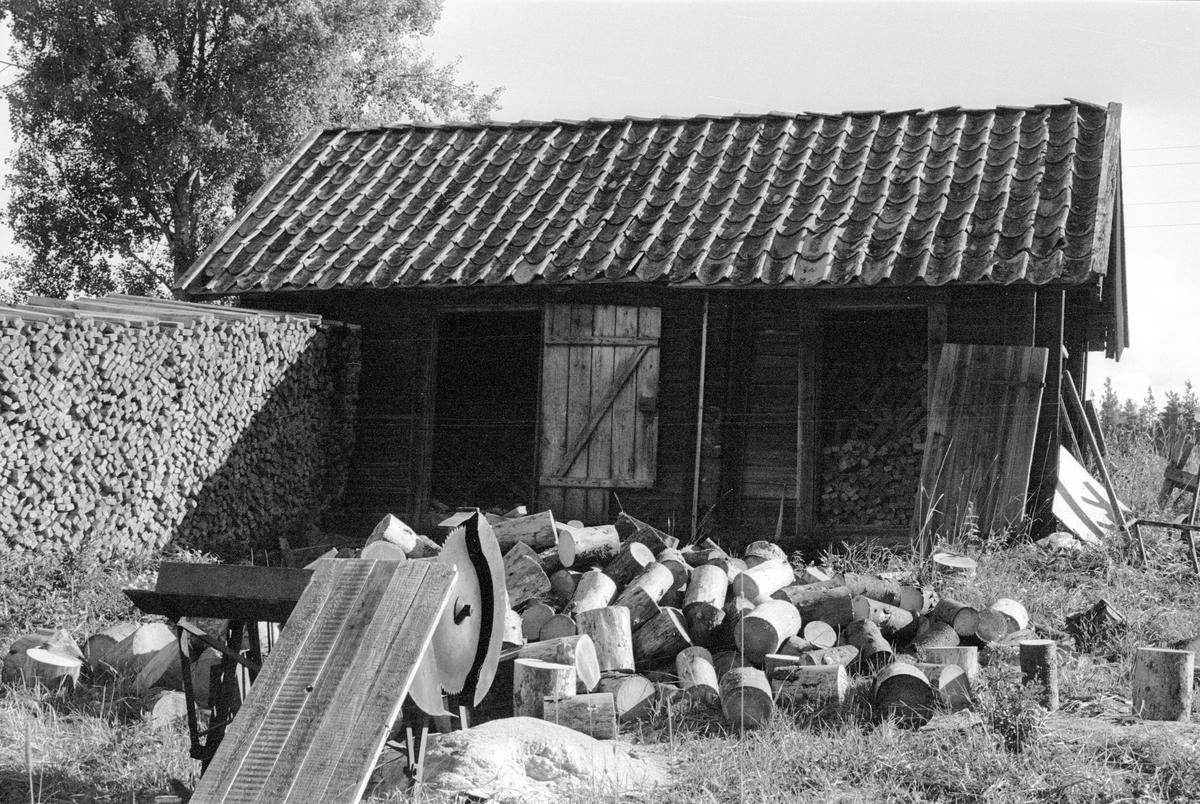Vedbod, Salsta Tegelbruk, Lena socken, Uppland 1978