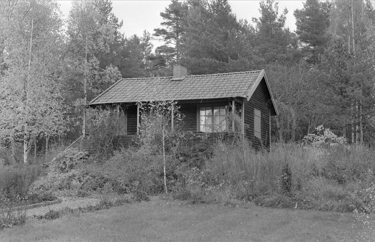 Sommarstuga, Fullerö, Gamla Uppsala socken, Uppland 1978