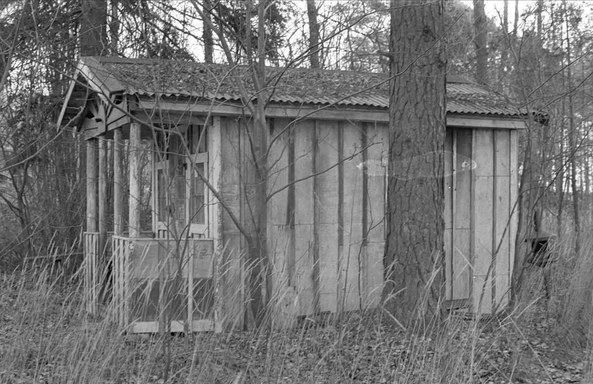 Uthus, Fullerö 18:9, Faxan, Gamla Uppsala socken, Uppland 1978