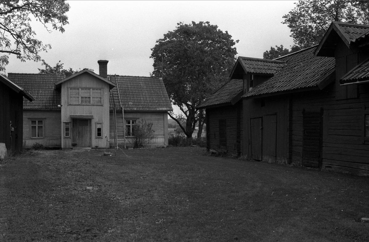 Bostadshus, lider, fähus och uthus, Hammarby, Björklinge socken, Uppland
