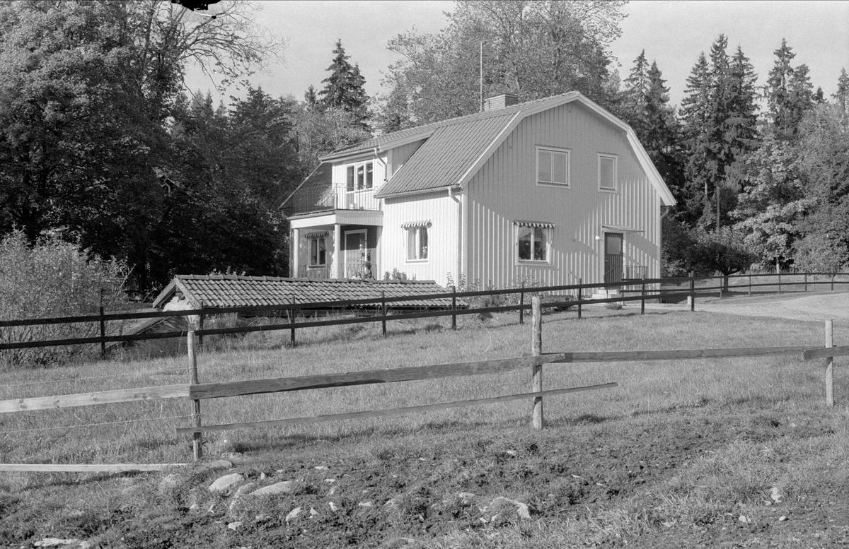 Bostadshus, Svartarbo 1:2, Bälinge socken, Uppland 1983