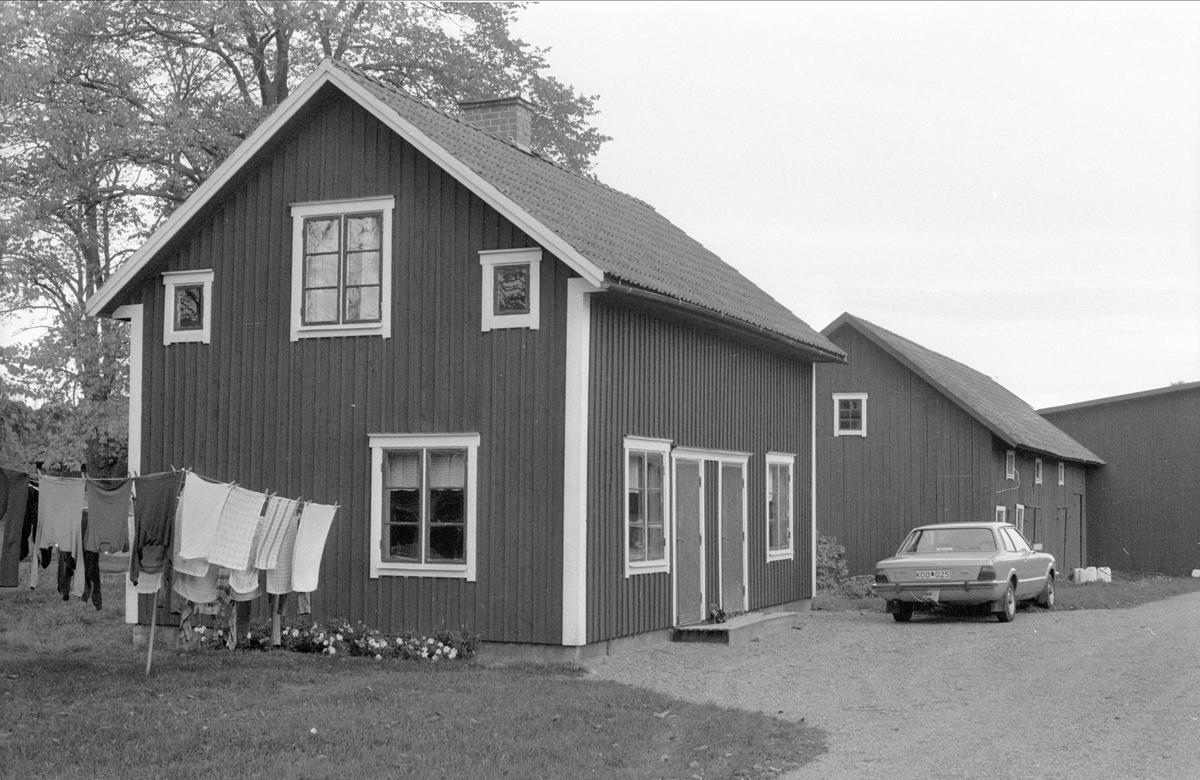 Bostadshus, Oxsätra 1:18, Bälinge socken, Uppland 1983