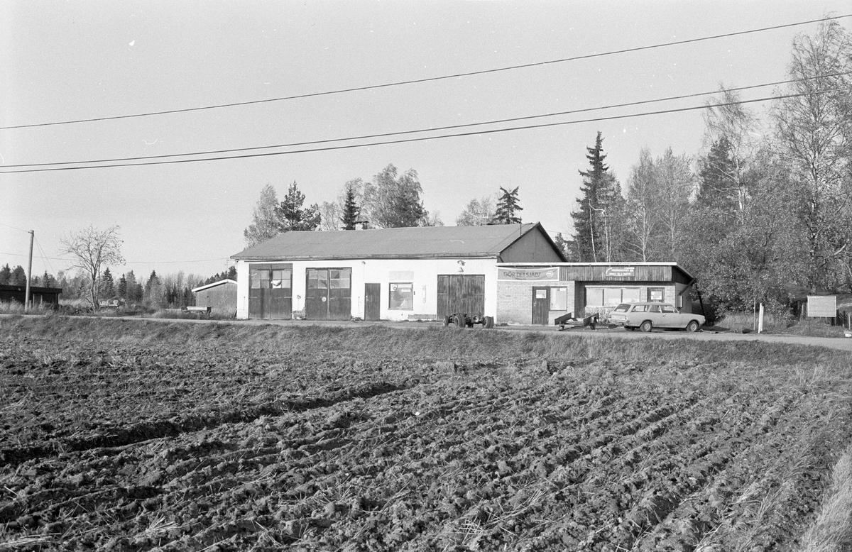 Bilverkstad, Blacksta 1:11, Blacksta, Jumkil socken, Uppland 1983