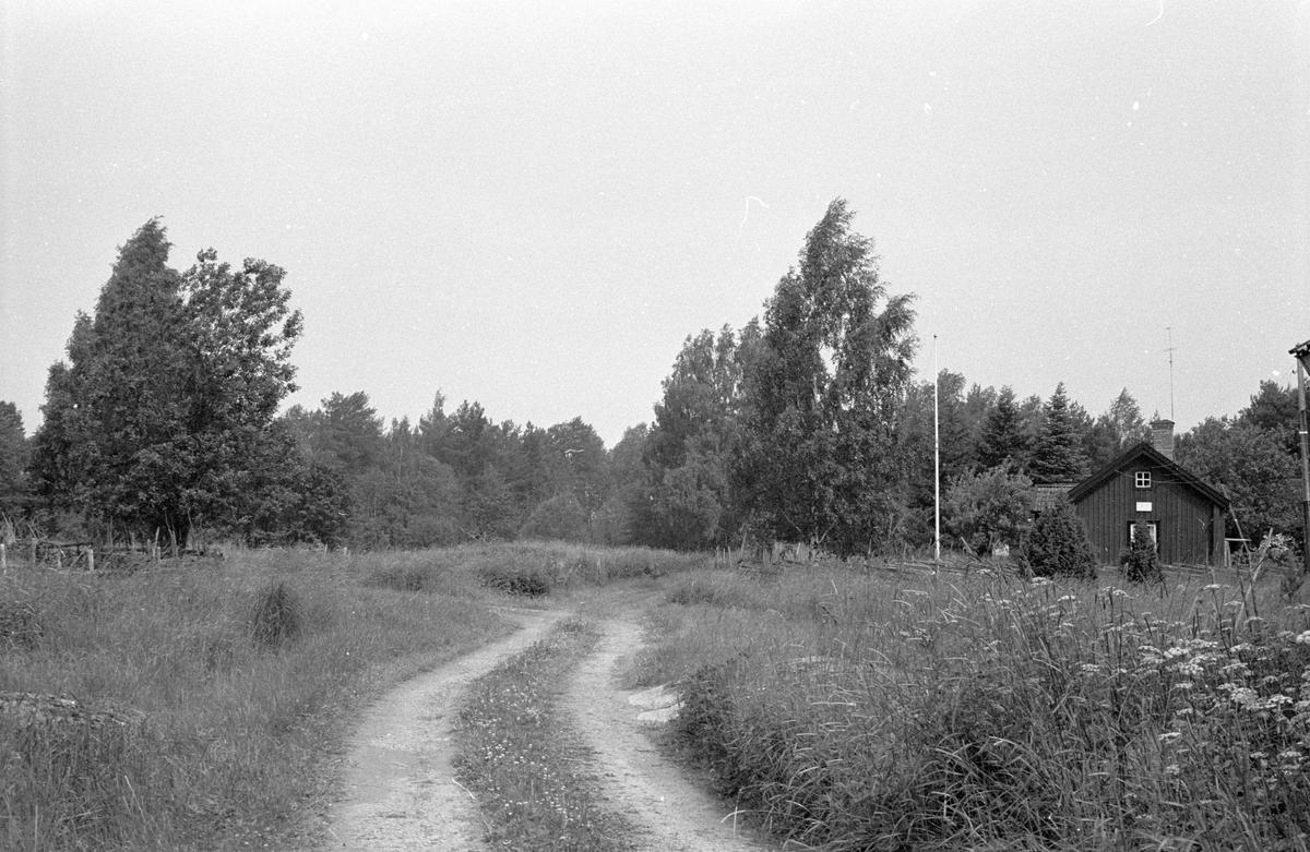 Beteshage, Faringe 1:7, Faringe, Faringe socken, Uppland 1987.