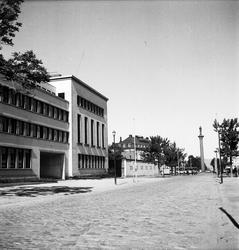 Stadsgata i Trondheim, Norge 1947