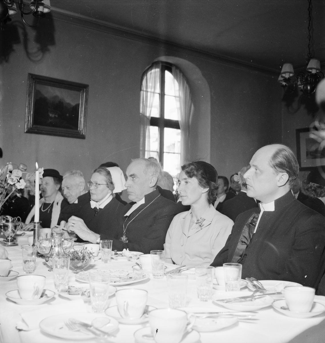 Samariterhemmet - installation, Uppsala april 1952