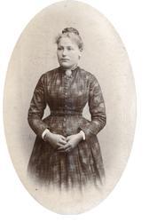 Portrett av Ingerid  Solberg fra Bjelland.