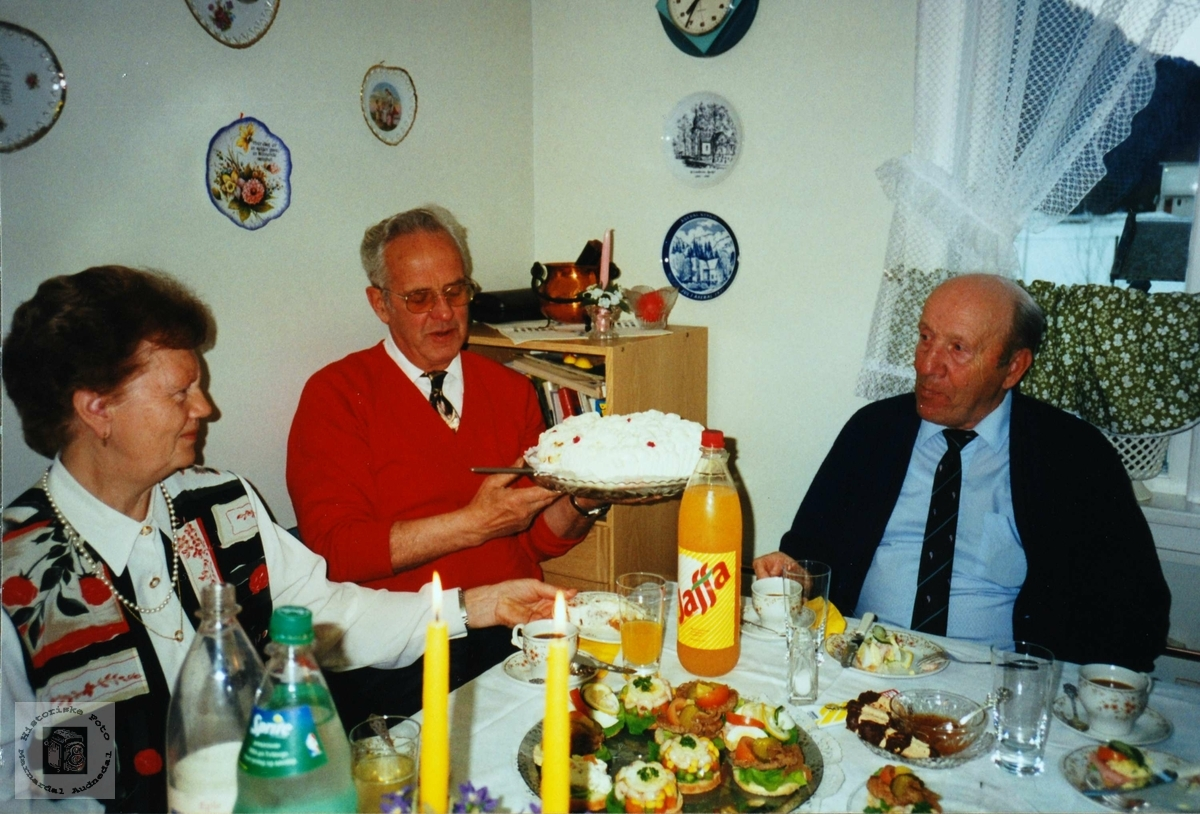 Feiring av 80 årsdag til Simon Aas.