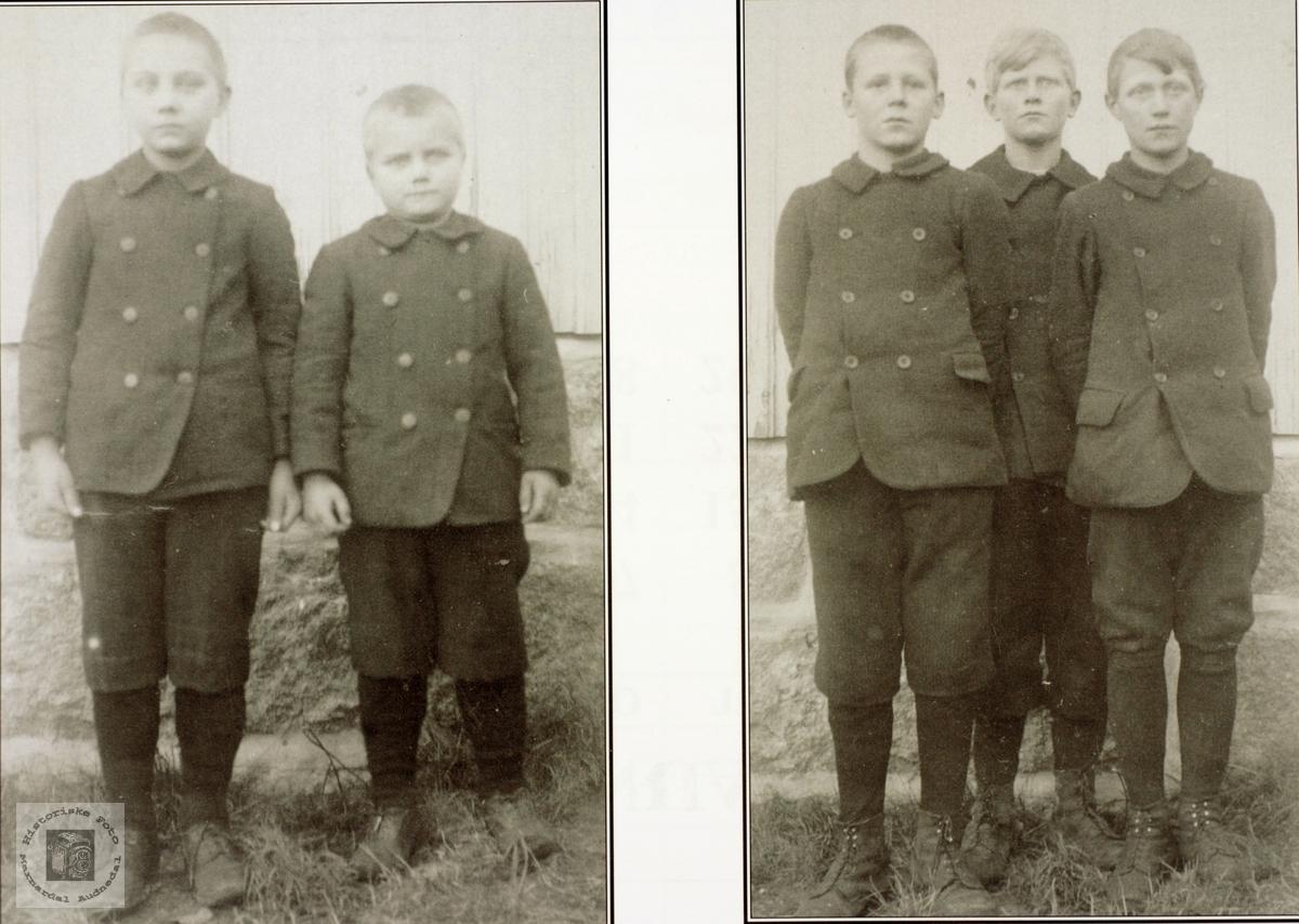 Selandskarer i oppveksten, Grindheim senere Audnedal.