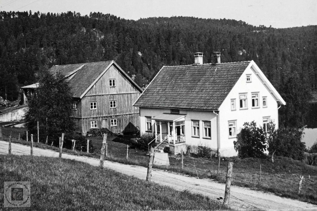 """Garden """"Bjørketun"""" på Ubostad. Grindheim Audnedal."""