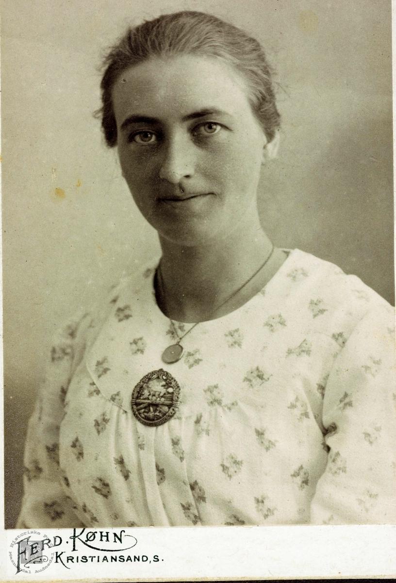 Portrett av Tarferd Byremo. Grindheim Audnedal.