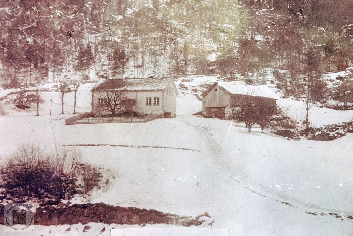 """Garden """"Vollen"""" på Sveinall i Laudal."""