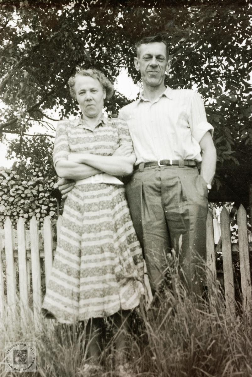 Ungt par i Risør.