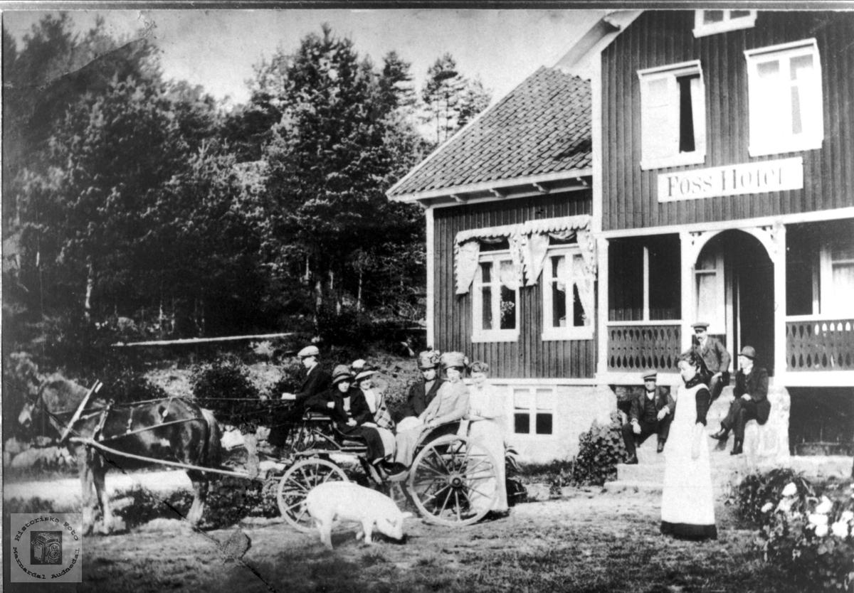 Foss Hotell i Bjelland.
