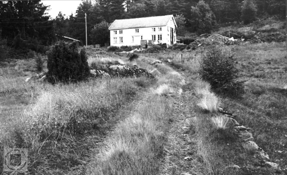 "Garden ""Heia"" på Roland i Bjelland."
