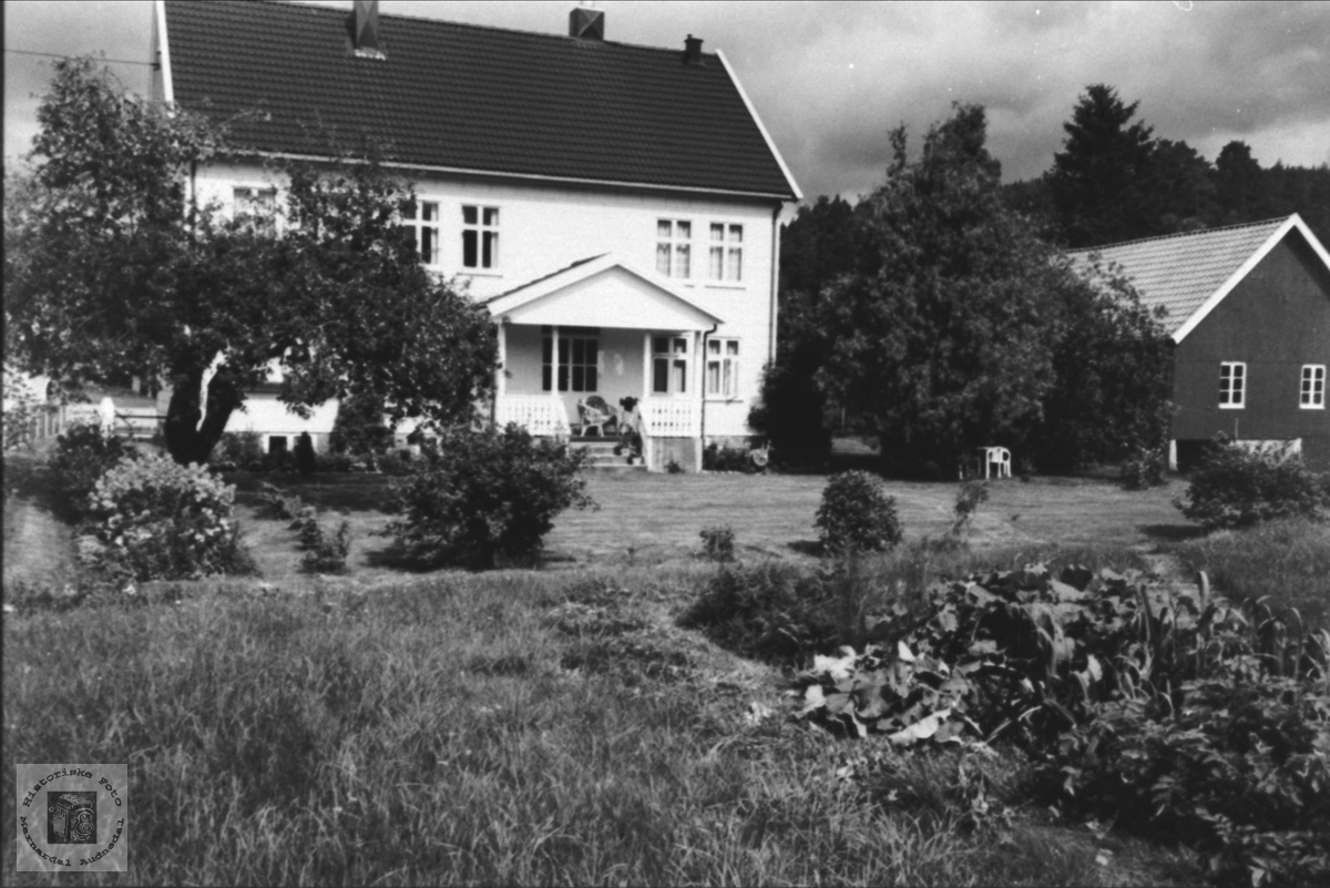Kari Koland`s hus, Sørmo i Bjelland.