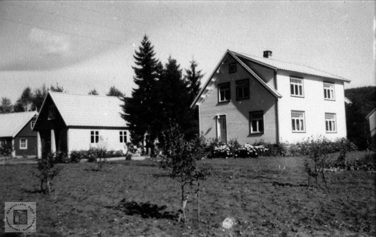 Heimen til Norveig og Tom Ugland, Koland i Laudal.