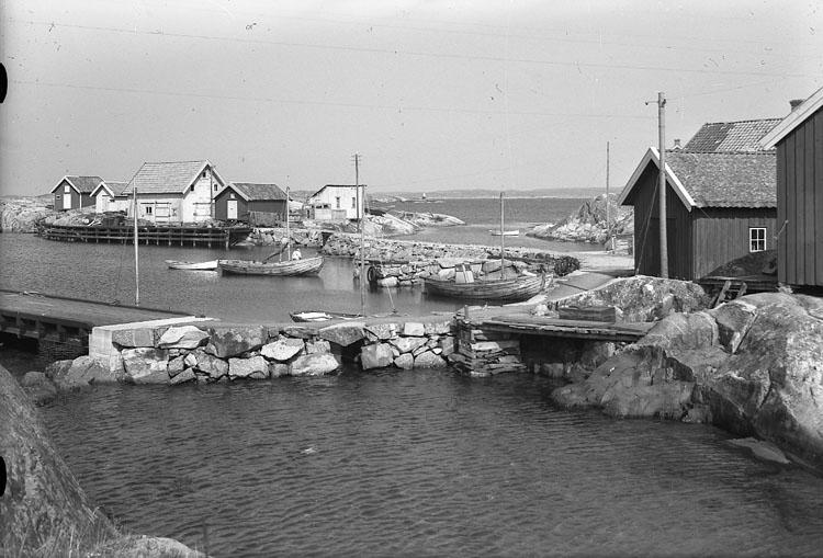 """Enligt AB Flygtrafik Bengtsfors: """"Käringön inre hamn Bohuslän""""."""