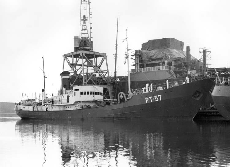 Fartyg 116 S/S Vorkuta PT 57 vid leverans.
