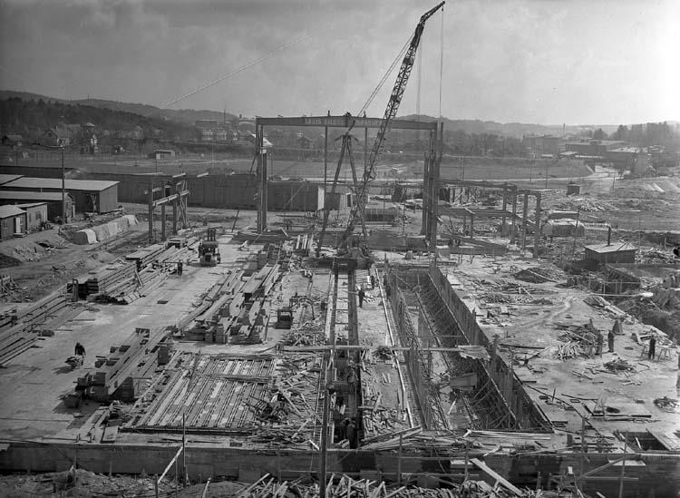 Anläggning av maskinverkstad.