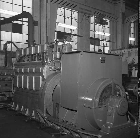5-cylindrig hjälpmaskin, Skandiaverken.