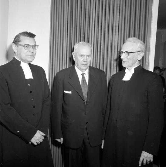 """Enligt notering: """"Missionsmöte församlingshemmet d 22/11 -58""""."""