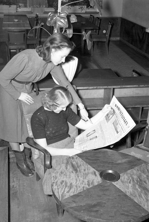 Tidningsläsare