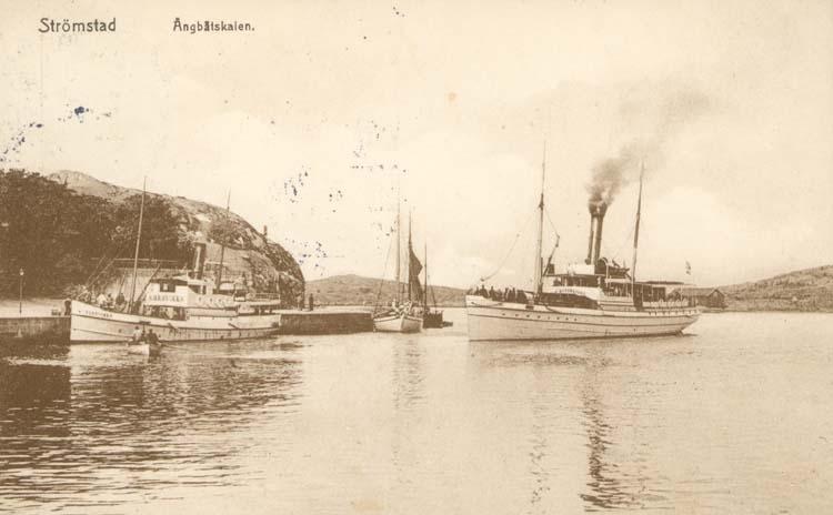 Åbgbåtskajen, Strömstad