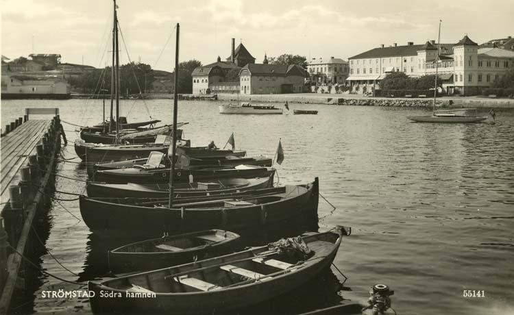 Strömstad. Södra hamnen.