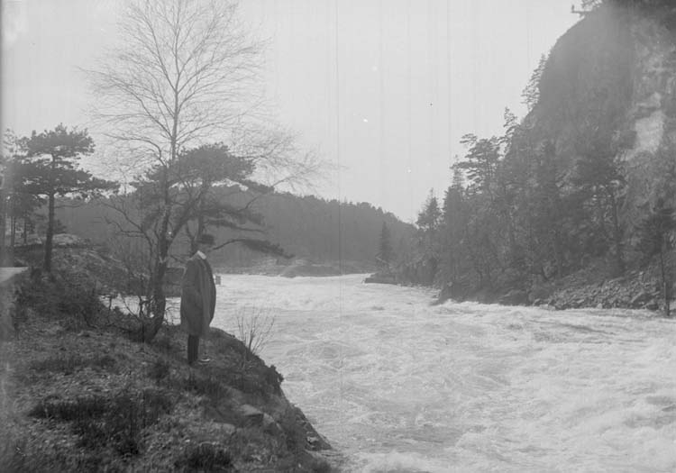 Vattenfall i Trollhättan, maj 1908