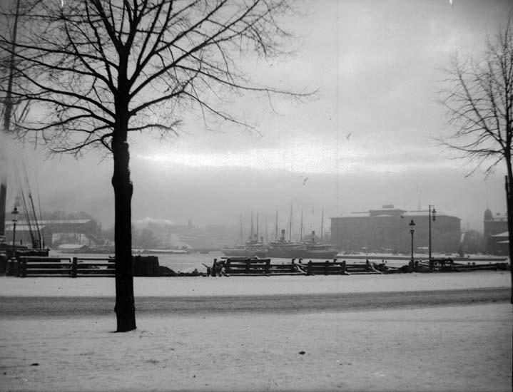 "Enligt text som medföljde bilden: ""Stockholm."" ::"