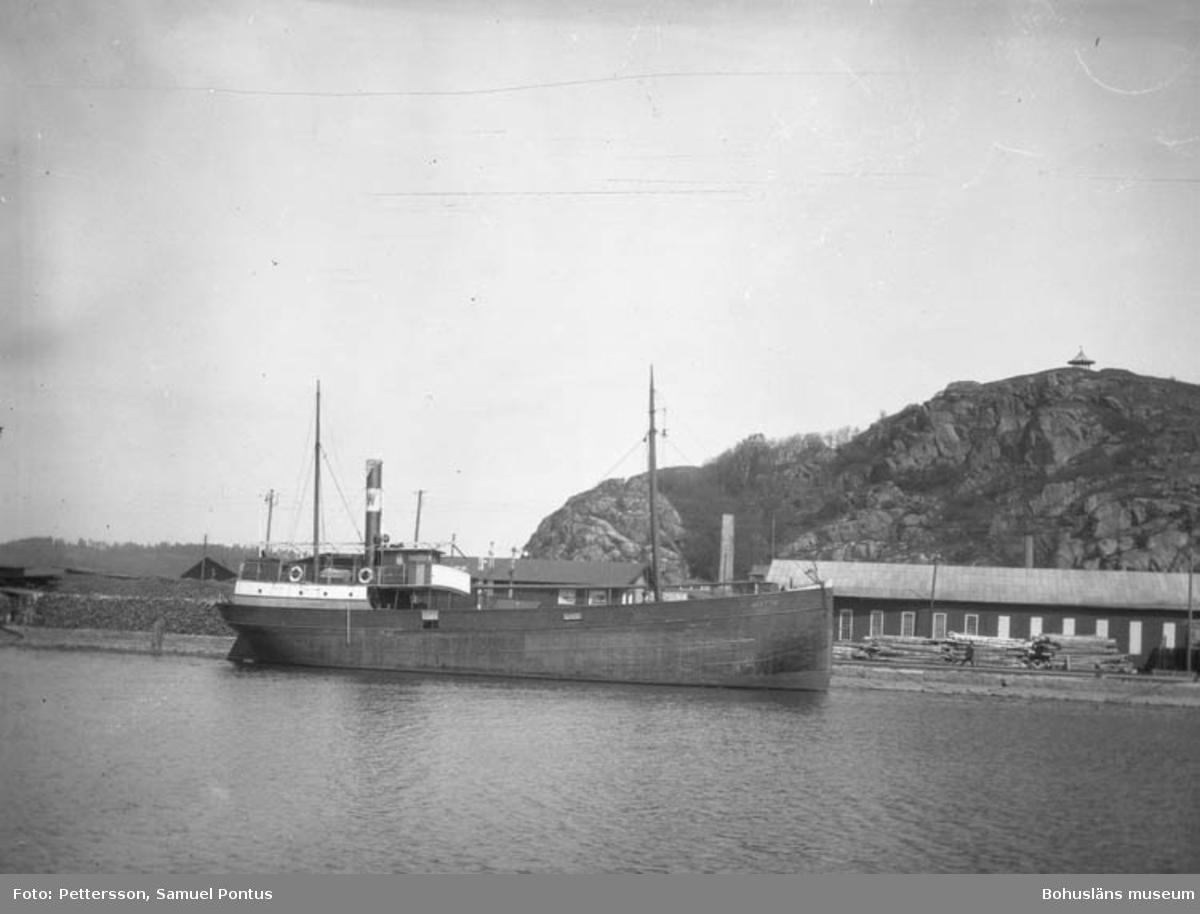 SS Bratto i Uddevalla hamn 1919