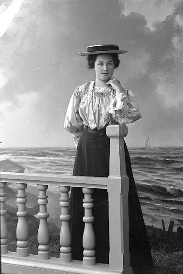 "Enligt fotografens journal nr 1 1904-1908: ""Larsson Ada Stenung""."