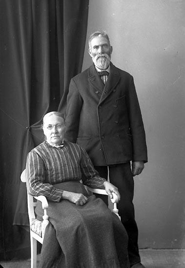 """Enligt fotografens journal nr 4 1918-1922: """"Mossberg, Alfred Ingetorp, Jörlanda""""."""