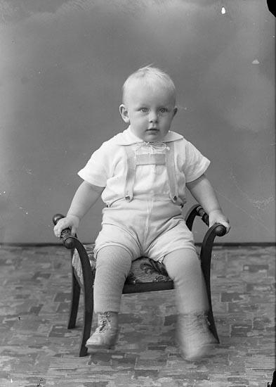 """Enligt fotografens journal nr 6 1930-1943: """"Pettersson, Bengt Åtorp Svenshögen""""."""