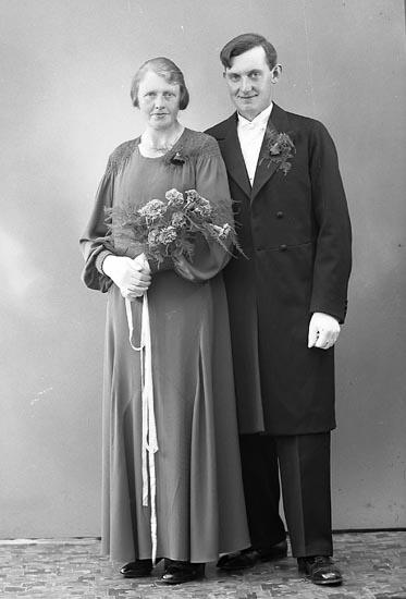 """Enligt fotografens journal nr 6 1930-1943: """"Johansson, Arthur Järnklätt Här""""."""